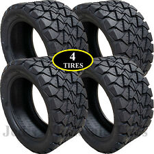 4) 22x10.00-14 22x10-14 22/10-14 Golf Cart ATV TIRE Timber Wolf All Terrain 4ply