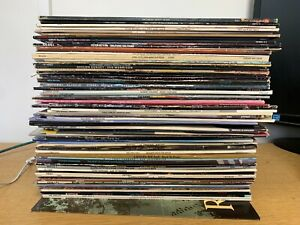 JOB LOT 82 LPs - 60's,70's,80's - LPs GREAT CONDITION - CASES NATURAL WEAR+TEAR