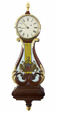 SWC-Federal / Classical Lyre form Banjo Clock, Boston, c.1810
