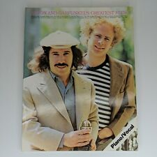 Simon And Garfunkels Greatest Hits Piano/Voice Tab Book