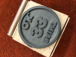SATELLITE ROAD RUNNER CHARGER CORONET GTX ST LOUIS PAINT 33 OK STAMP ON FENDER