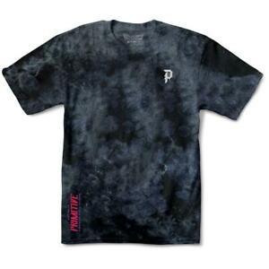 Primitive Tee Goku Black Rose Wash Black Dragon Ball Z Skateboard T-Shirt DBZ