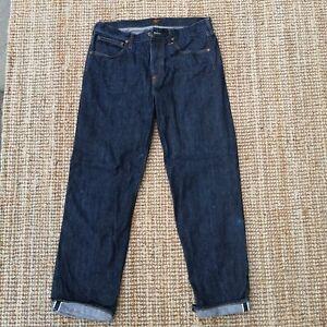 Lee 101B Cowboy W32 L34 Lot 49 13 3/4 oz Blue Selvedge single line denim Japan