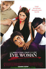 Saving Silverman aka Evil Woman Movie Poster 27x40 Jason Biggs Jack Black 2001