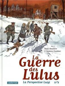BD - LA GUERRE DES LULUS, LA PERSPECTIVE LUIGI > TOME 2 / HAUTIERE, GLENAT