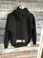 Vintage SUM 41 Sweater Hoodie Band Rock Concert Mens Medium