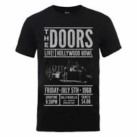 Men's The Doors Advance Final Black T-Shirt - Unisex Rock Music Tee