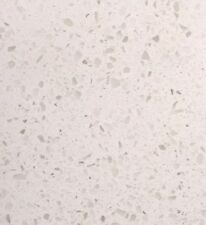 WHITE ALMOND QUARTZ WORKTOP SAMPLE KITCHEN BATHROOM GRANITE