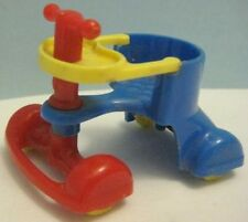 Old Renwal Dollhouse Furniture Accessory - Childs Wheeled Baby Walker Carriage