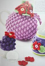 Tea cosy, Egg Cosy et tasse couverture CROCHET PATTERN