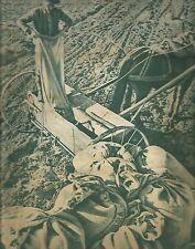 K0256 Agricoltore - Spandiconcime - Cavallo - Immagine fotografica