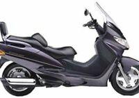 Coprisella specifico per scooter Suzuki Burgman 250 prima serie dal 1998 al 2002