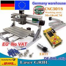 【DE】3 Axis 3018 CNC USB Wood PCB Engraving Milling Machine Kit+GRBL Offline&ER11
