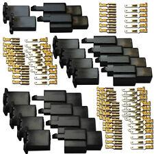 BLOCKSTECKER SET 108 TEILIG PINS JAPAN STECKER KABEL VERBINDER STECKVERBINDER