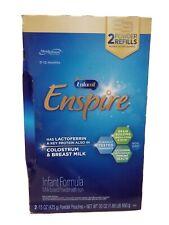 Enfamil Enspire Baby Formula Milk Powder Refills , 30 Ounce. Exp : 04/ 2021+