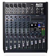 8 Kanal Live Mischpult Audio Mischpult Mixer Alto Live 802 3-Band EQ