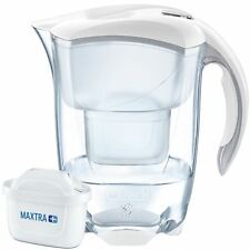 BRITA Elemaris Cool MAXTRA+ Plus 2.4L Water Filter Fridge Jug + Cartridge, White