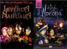 2DVD'S-La Leyenda De La LLorona & La Leyenda De La Nahuala |DVD|2 DVD'S|ESPANOL