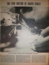 Article Dr Dutta Fish Doctor Baker Street London 1952