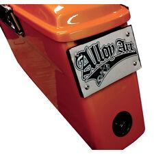 Alloy Art Black Removable Saddlebag License Plate Mount - 93-17 Harley FLHX FLHT
