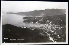ITALY~ITALIA~1920's GOLFO DEL TIGUGLIO ~ CHIAVARI Real Photo PC   RPPC