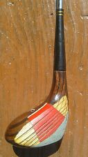 """Stan Thompson Ginty *no number mystery """" wood driver vintage RH golf club"""