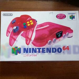 Nintendo 64 Clear RED Console System Japan *COLLECTORS ITEM - UNDER $400*