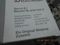 nur der Karton ohne Inhalt für Fa. Simprop Servo S1 0101532