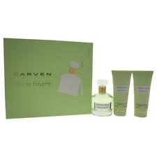 L'Eau De Toilette by Carven - 3 Pc Gift Set 3.33oz EDT Spray and more