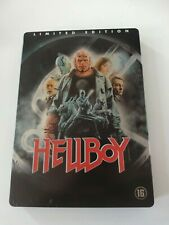 Hellboy Limited Edition Steelbook DVD Benelux Release 2007 Guillermo del Toro