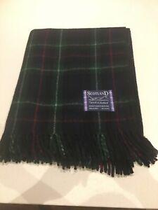 Tweed Écosse Moderne Tartan Plaid 100% Laine Genou Couverture Tapis Mackenzie