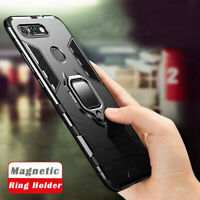 For Huawei Honor View 20 V20 V10 Magnetic KickStand Ring Card Holder Case Cover