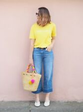 Whistles - Hello Sunshine Logo T-Shirt - Yellow - New with tag - Size S 10/12