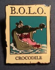 Disney Cast Member Exclusive Pin  B.O.L.O Crocodile From Peter Pan Bolo