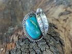 Vintage Native American Sterling Silver/Turquoise Ring-Navajo