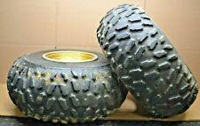 Yamaha Raptor 350 660 700 Warrior 350 Dunlop KT775 Rear Tires 22x10x9 DT8