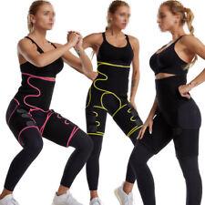3-in-1 Thigh Shaper Waist Trainer Leg Slimming Training Wrap Belt Body Shaper