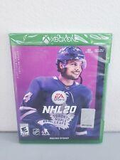 NHL 20 (Microsoft Xbox One, 2019) Brand New Sealed Free S&H