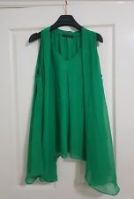 Alexander Mcqueen Shirt - Green Flow Shirt - New - Emerald Green