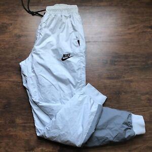 Mens Nike Windrunner Pants 898403-043 Cool Grey/Black Size Medium