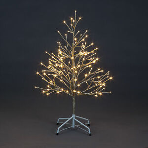 90cm Champagne Tree With 152 Warm White LED