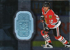 98-99 SPX FINITE #18 TONY AMONTE 5036/9500 BLACKHAWKS *26290