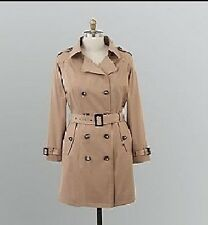 Women's winter fall spring rain trench coat  jacket plus size 1X 2X 3X new $160