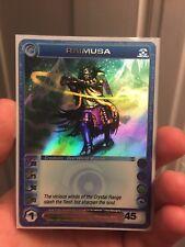 Chaotic RAIMUSA Card (Ultra Rare Promo, Dawn of Perim) Max Power and Wisdom