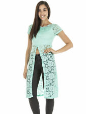 Scoop Neck Cropped Tops & Shirts Size Petite for Women