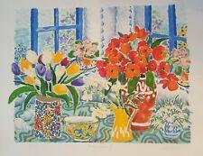 Cathi Whiting Signed / Listed Serigraph - English Artist - MORNING SUNSHINE 2