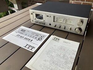 ITT HiFi 8020 B Kassettendeck Tapedeck mit Original Anleitung