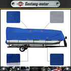 21' 22' 23' 24' Boat Cover Waterproof Trailerable Heavy Duty Pontoon Beam 102''