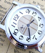 LUCH SILVER SCOTTISH CELL Vintage 90s Russian Wind-Up Mechanical Wrist Watch