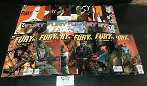 Fury, by Garth Ennis, 3 COMPLETE Series!